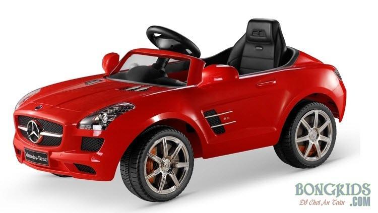 Xe ô tô điện trẻ em Mercedes 681R đỏ