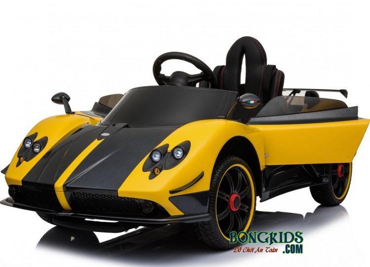 Xe ô tô điện trẻ em Sx-1788 màu vàng