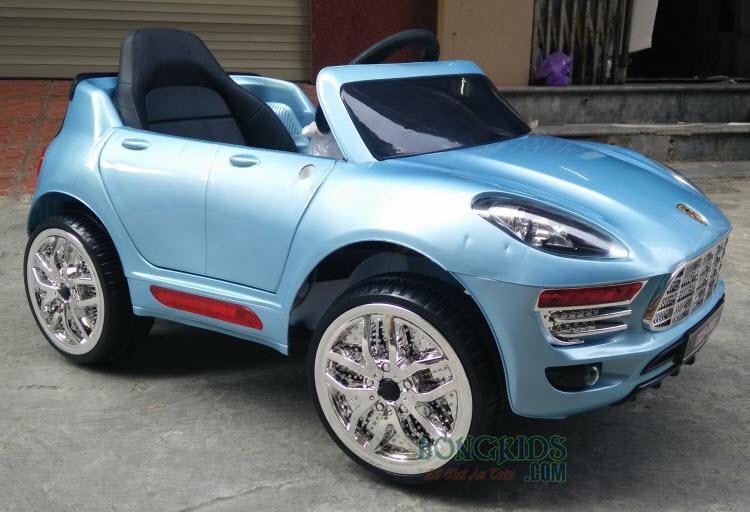xe ô tô điện trẻ em Porsche WMT-5188 - xanh