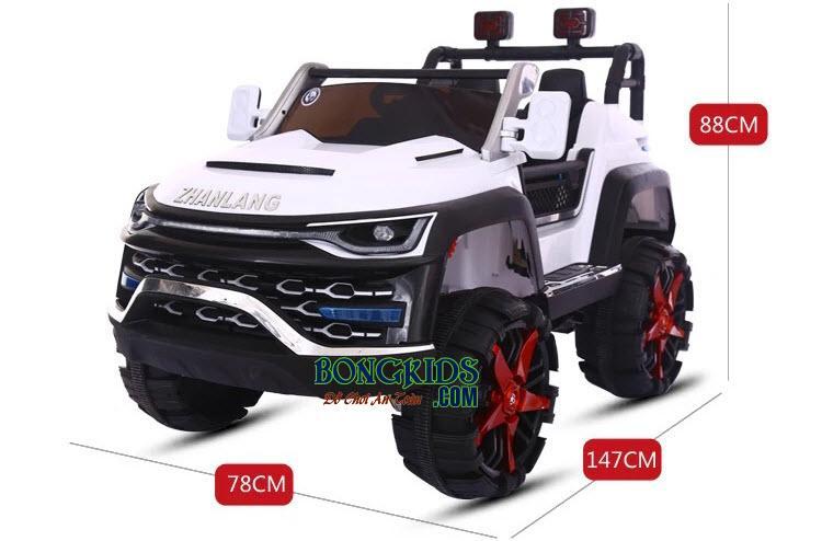 Kích thước xe ô tô điện trẻ em cá sấu 520NO1