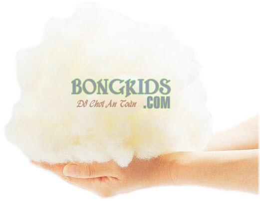 Chất liệu làm gấu bông 2 màu - bongkids.com