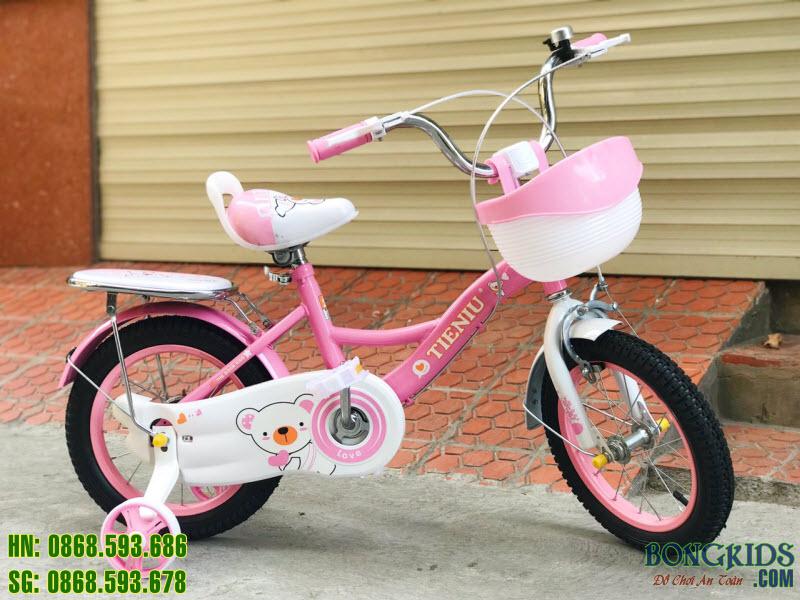 Xe đạp 150 màu hồng đậm  2