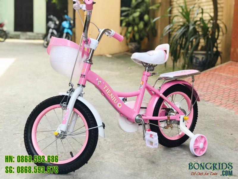 Xe đạp trẻ em 150 màu hồng 6