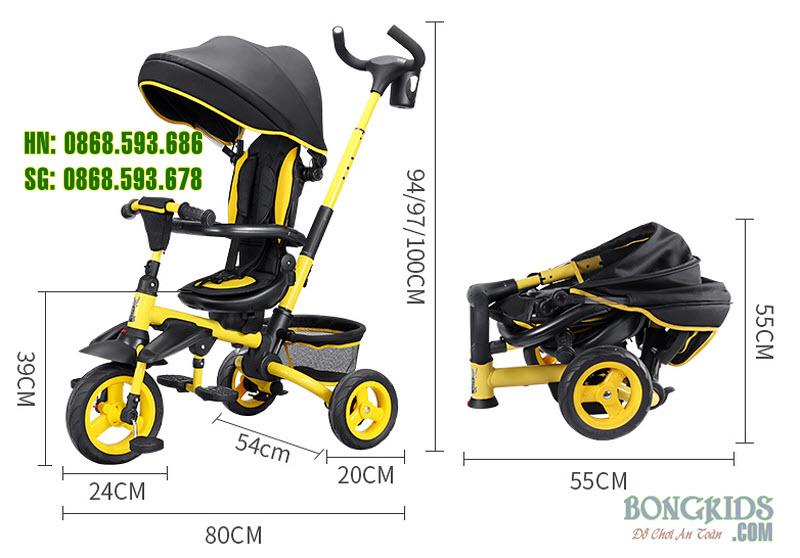 Xe 3 bánh trẻ em JY-T05 10