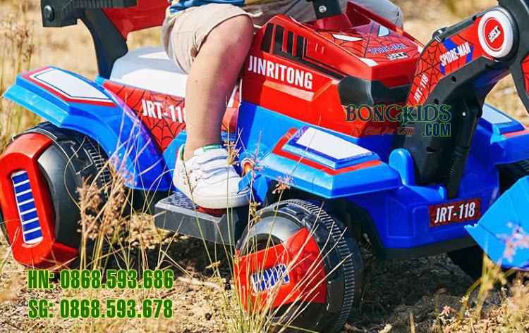 Xe cần cẩu điện cho trẻ em JRT-118 chi tiết