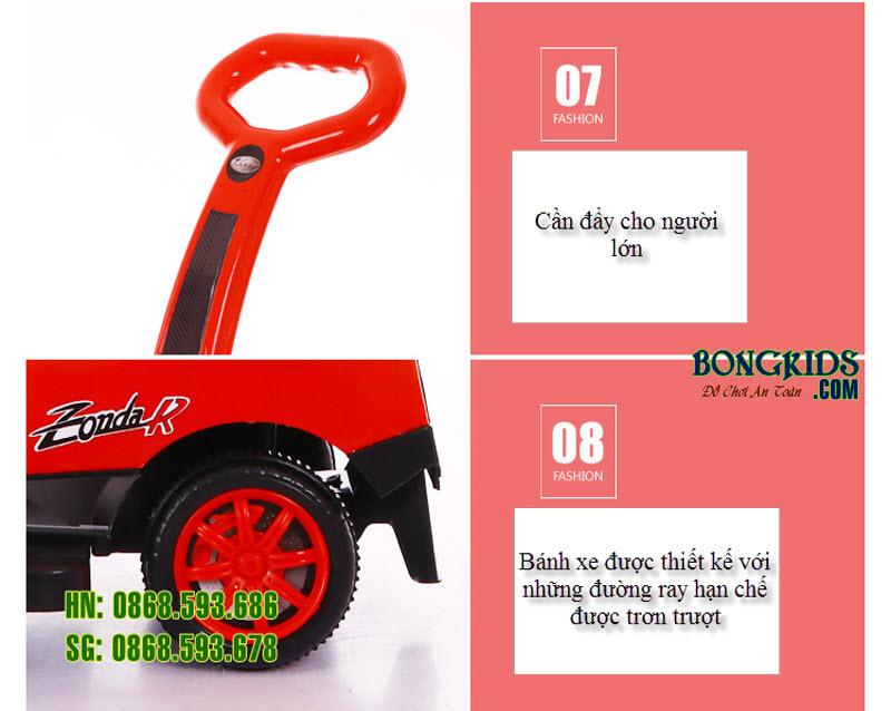 Xe chòi chân cho bé BN-602-6
