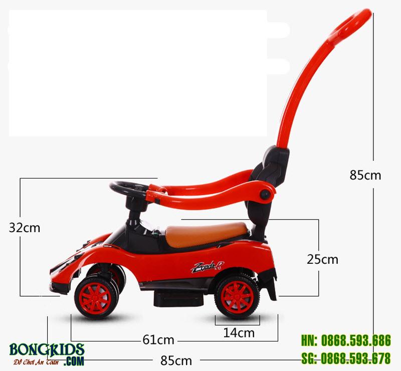 Xe chòi chân cho bé BN-602-7