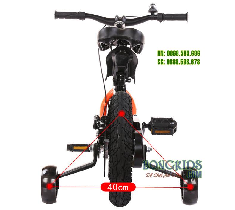 Xe đạp xích cho bé 333 cao cấp vành đúc + phanh đĩa