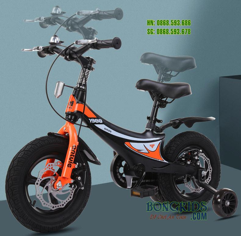 Xe đạp xích cho bé 333 cao cấp vành đúc + phanh đĩa VIP