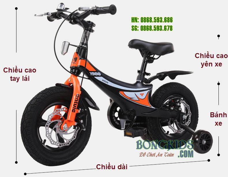 Xe đạp xích cho trẻ em 333 cao cấp vành đúc
