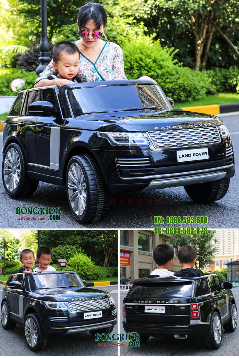 Xe ô tô điện cho bé DKRR999 màu đen