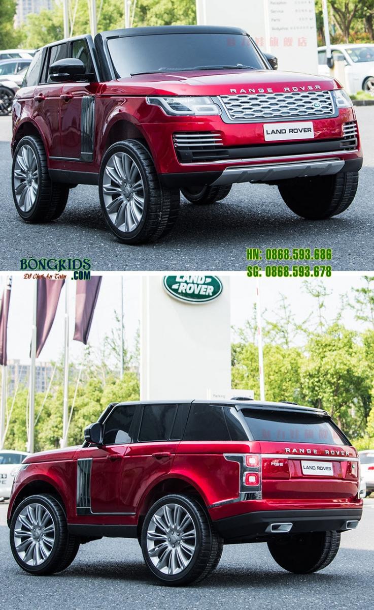 Xe ô tô điện trẻ em DKRR999 màu đỏ 1