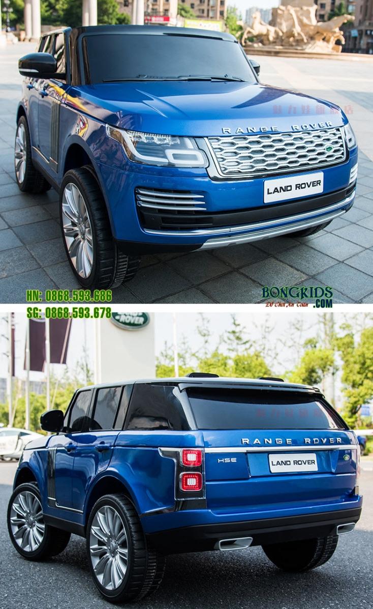 Xe ô tô điện trẻ em DKRR999 màu xanh