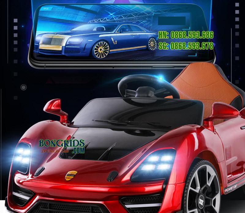 Xe ô tô điện trẻ em BDQ 5188 màu đỏ 5