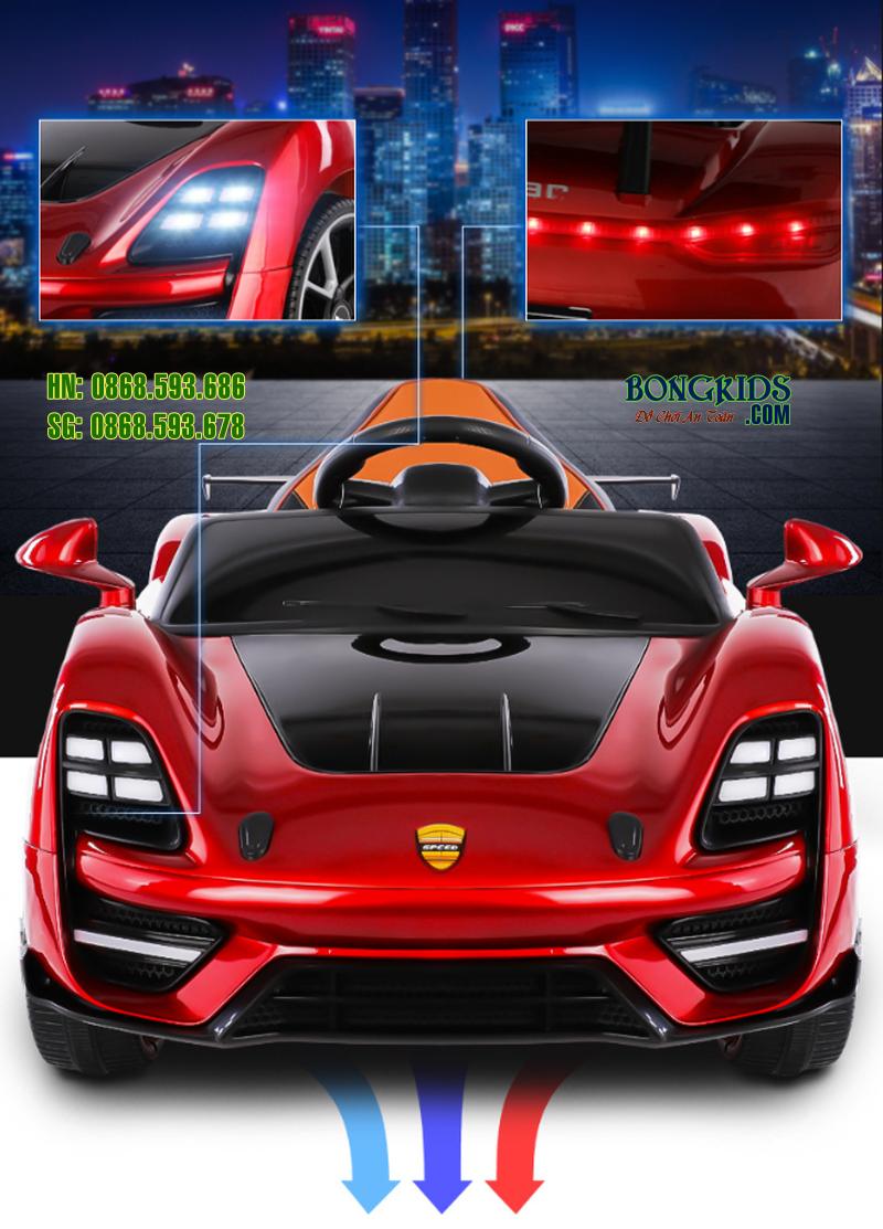 Xe ô tô điện trẻ em BDQ 5188 màu đỏ 4