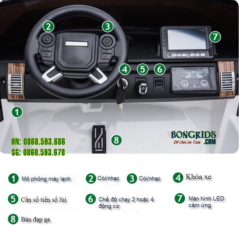 Xe ô tô điện trẻ em  DKRR999 4