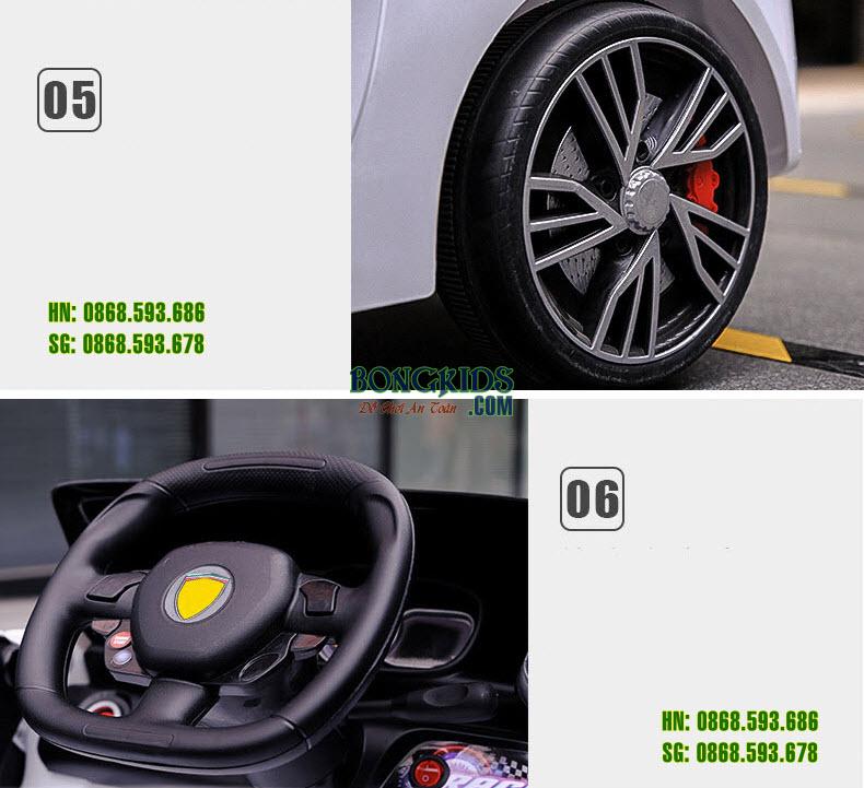 Chi tiết Xe hơi điện cho bé HD011