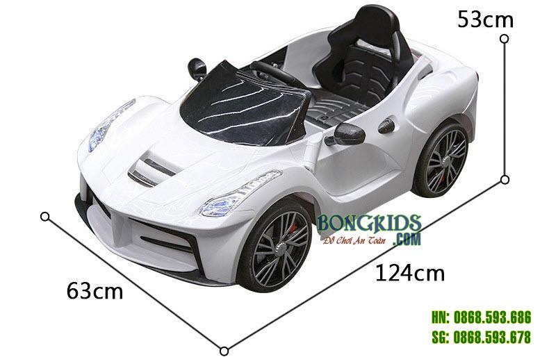 Kích thước Xe Ô tô Điện Trẻ Em HD011