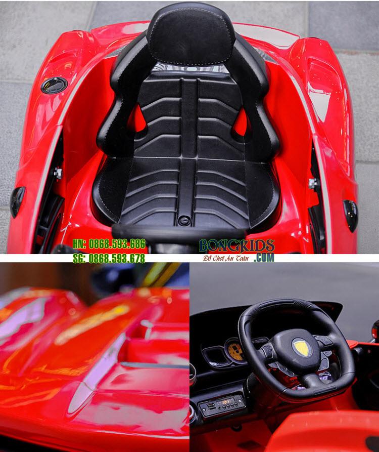 Chi tiết Xe ô tô điện cho bé HD011