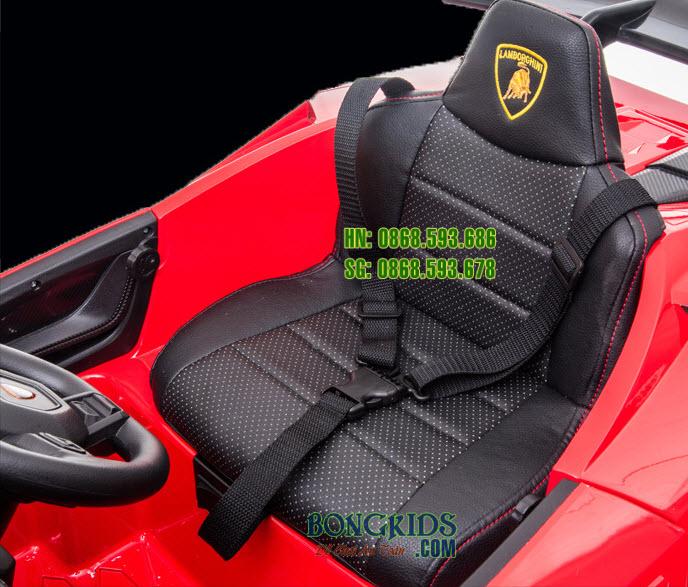 Ghế da-Xe ô tô điện trẻ em Lamborghini S308