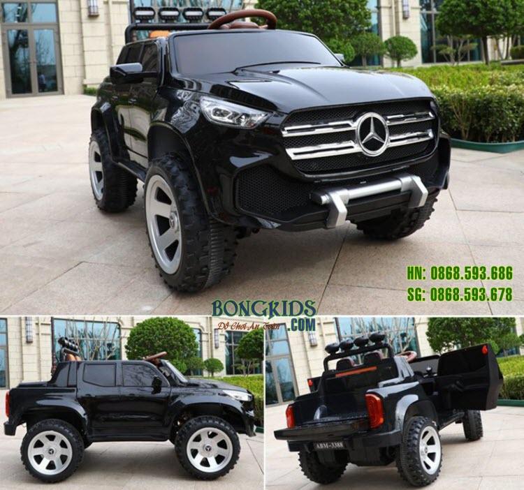 Xe ô tô điện trẻ em Mercedes ABM 3388 màu đen