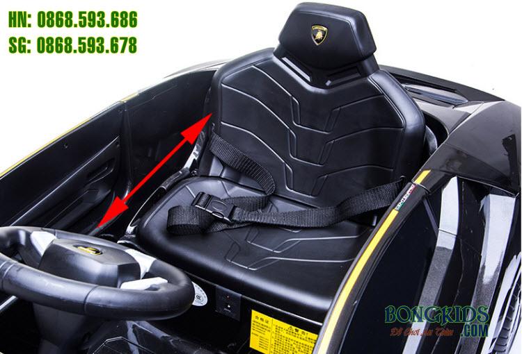Xe ô tô điện trẻ em Lamborghini 6726R - ghế