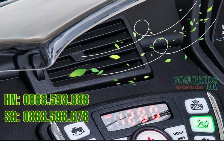 Xe ô tô điện trẻ em Lamborghini 6726R có quạt