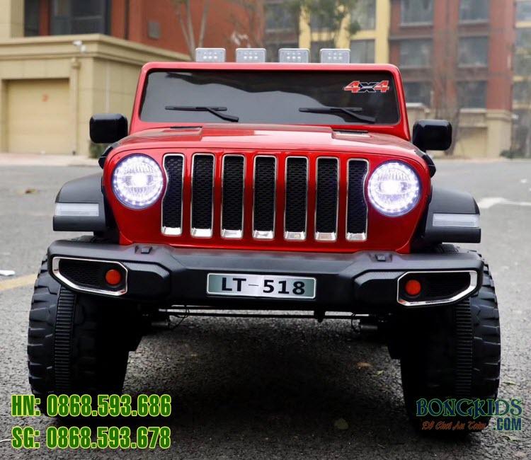Xe ô tô điện trẻ em LT-518 màu đỏ