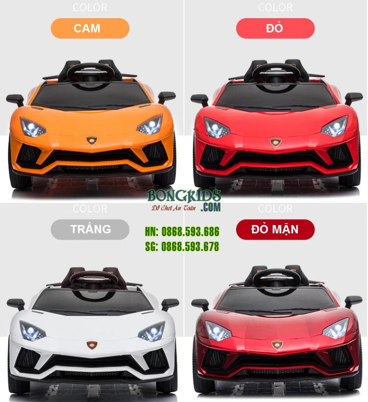 Xe ô tô điện trẻ em LT-998 có 4 màu cơ bản