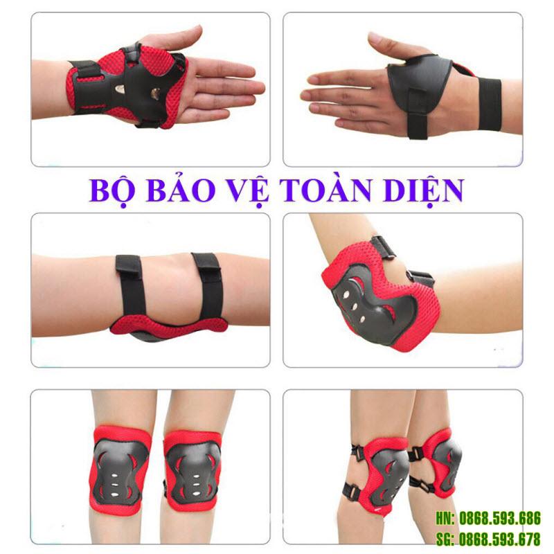 Bảo vệ tay chân cho bé Protec