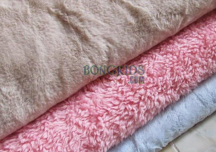 Vải lông - nguyên liệu làm thú nhồi bông