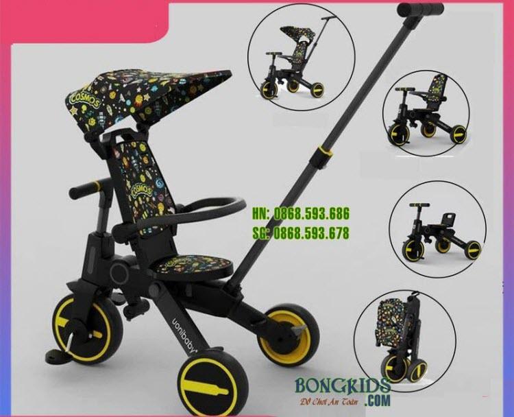 Xe đạp 3 bánh cao cấp SL1688 chính hãng Uonibaby