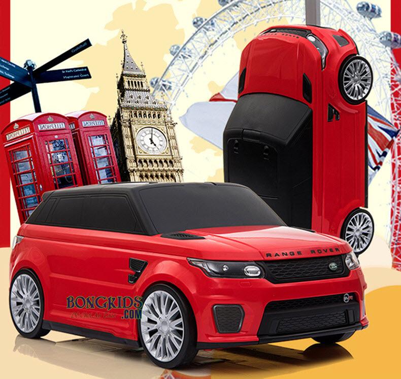 Xe chòi chân - Vali ô tô cho bé màu đỏ