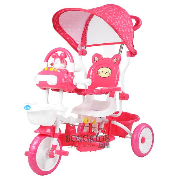 Xe đạp 3 bánh trẻ em 231G màu hồng