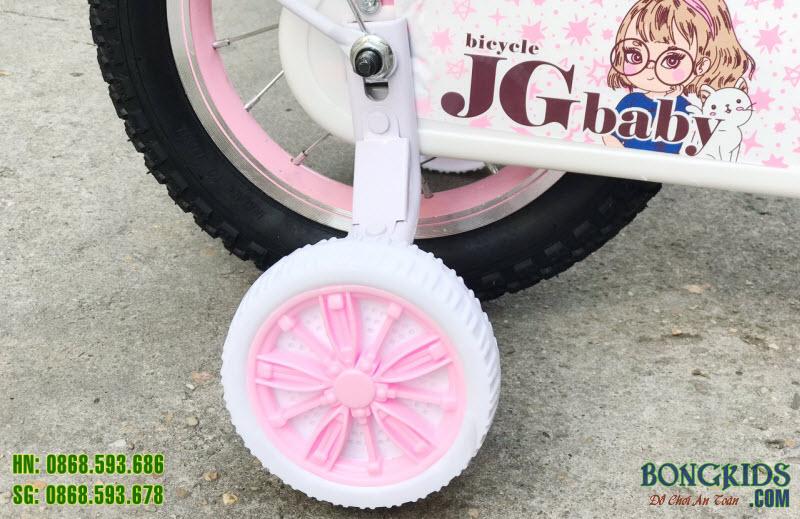 Bánh phụ Xe đạp công chúa xinh cho bé gái JGbaby 065