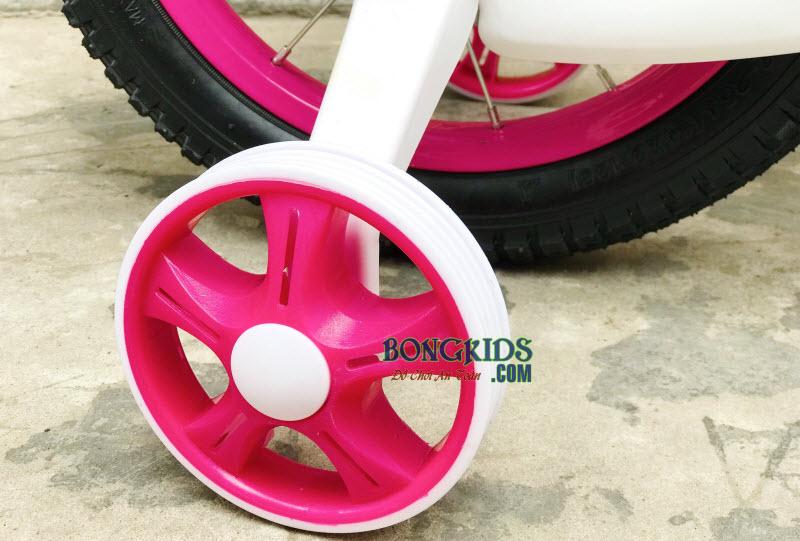 Xe đạp trẻ em 150 màu hồng 4