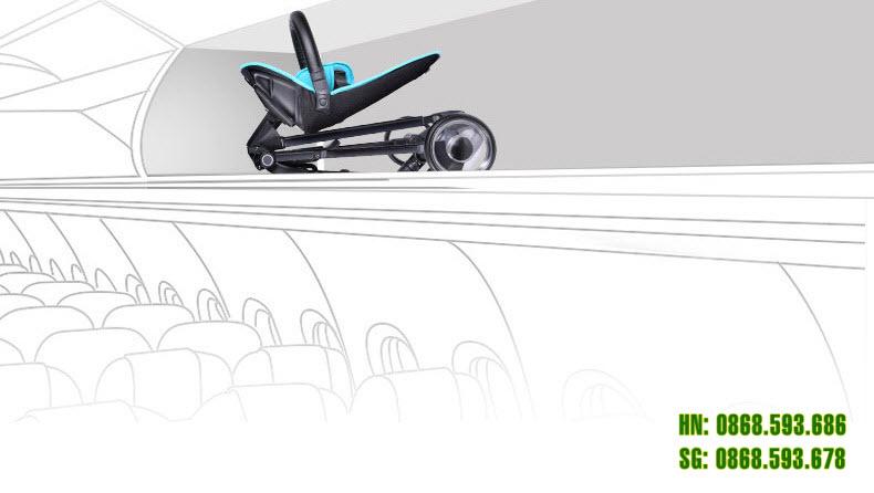 Xe đẩy thông minh 4 bánh cao cấp