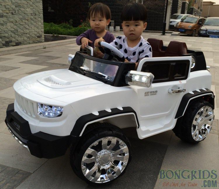 Xe ô tô điện trẻ em 2 chỗ